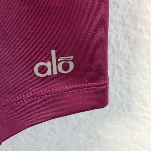 ALO Yoga Tops - Alo Yoga Chromatic Tank Berry Mesh Sz Small